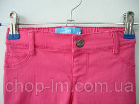 Джинсы (штанишки) Old Navy (розовые) skinny, фото 2