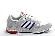 Кроссовки женские в стиле Adidas ZX 750, White\Gray, фото 2