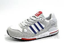 Кроссовки в стиле Adidas ZX 750, White\Gray, фото 3