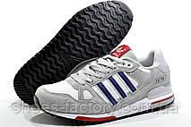 Кроссовки в стиле Adidas ZX 750, White\Gray, фото 2