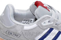 Кроссовки женские в стиле Adidas ZX 750, White\Gray, фото 3