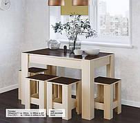 Стол обеденный СТО-1 + 4 табуретки Т-1