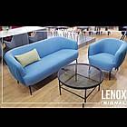 Диван Lenox 2 SIGNAL синий, фото 3