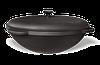 Казан чугунный азиатский, эмалированный , с чугунной крышкой. Объем 30,0 литров.