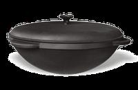 Казан чугунный азиатский, эмалированный , с чугунной крышкой. Объем 22,0 литров.