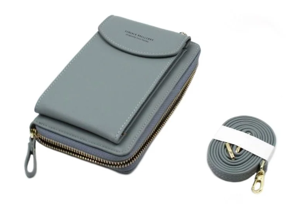 Кошелек-клатч Forever N8591, серый