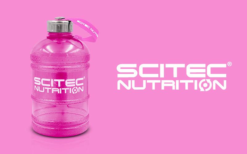Scitec nutrition ГЛЕЧИК НЕОН РОЖЕВИЙ 1300 МЛ