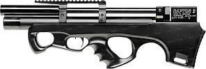 Пневматическая винтовка PCP Raptor 3 Compact 4.5мм 23 Дж черный с чехлом