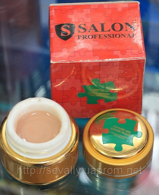 Salon Professional Future Cover Peach Gel, 15 мл