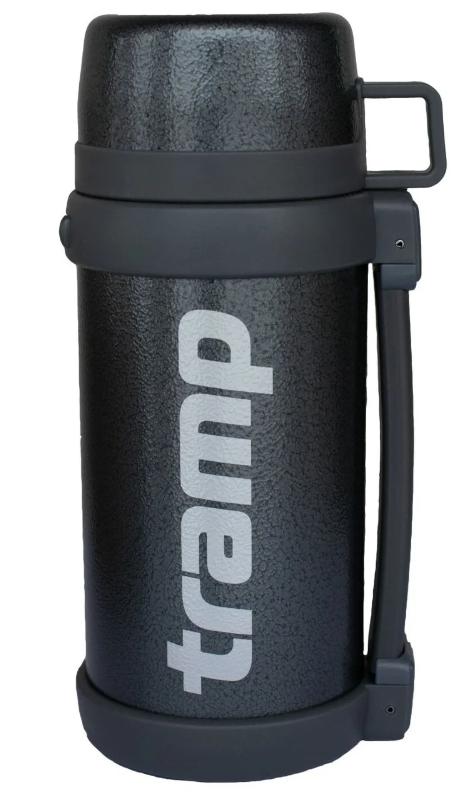 Термос Tramp TRC-096 Greenline с чашкой 1.5 л, серый