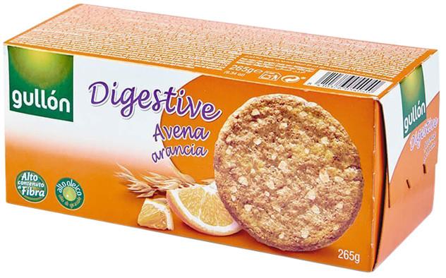 Печиво GULLON Digestive вівсяне з апельсином, 425
