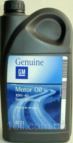 Масло моторне General Motors (Opel, GM) 10w-40 2л