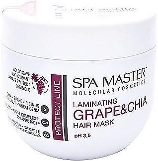 Ламінуючий маска для захисту волосся 500 мл SM 205 SPA MASTER PROTECT LINE, Спа Майстер
