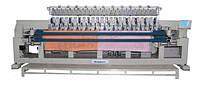 Стегально-вышивальная 12-головочная 4-цветная стегально-вышивальная машина