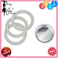 Прокладка для кофеварки Frico FRU-441С кольцо | Силиконовые диски и фильтр в кофеварку на 9 чашек