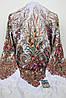 Платок шерстяной павлопосадский (120см) 607011, фото 3