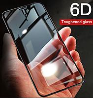 Защитное стекло для Xiaomi Redmi 4A, Full glue (6D, с олеофобным покрытием), цвет черный