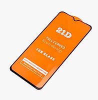 Захисне скло для Xiaomi Redmi Note 7 Full glue, 21D (0.1 мм з олеофобним покриттям), колір чорний