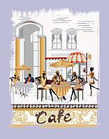 Вышивка бисером Городское кафе (Городской пейзаж)