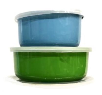 Набор судочков Benson BN-651 эмалированных (5 шт) | судок для еды Бенсон | пищевые контейнеры Бэнсон | судки