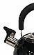 Чайник со свистком Benson BN-718 (2 л) черный из нержавеющей стали, нейлоновая ручка | чайник Бенсон, Бэнсон, фото 2