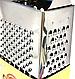 Тёрка Benson BN-914 из нержавеющей стали 4 стороны | шинковка | кухонная терка из нержавейки Бенсон, Бэнсон, фото 3