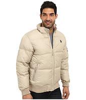 Бежевая куртка U.S. Polo Assn.