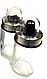 Набор соль/перец Benson BN-936 (6 шт)   набор для специй на подставке   солонка и перечница Бенсон, фото 3