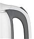 Стеклянный электрочайник KB-2028 серый (1.7 л) | электрический чайник | чайник с подсветкой, фото 2