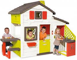 Домик для детей Smoby с чердаком и летней кухней 810200