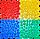 Массажный  коврик  с эффектом морской гальки Пазлы 4 элемента, фото 2