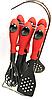 Кухонный набор из 7 предметов Benson BN-460 | лопатка | ложка для спагетти | половник | шумовка