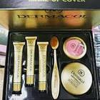 ОПТ Косметичний набір Dermacol Make-up 6 в 1 (тональний крем, пудра, рум'яна) зі щіточкою подарунковий нвбор, фото 3