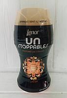 Кондиционер ополаскиватель для белья в гранулах Lenor Unstoppables Lavish 140г Италия
