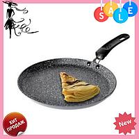Сковорода блинная Edenberg EB-3385 с антипригарным мраморным покрытием 22 см, фото 1