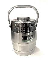 Термос пищевой для еды Benson BN-650 (2 л) | судок для поддержания температуры тормозка Бенсон, вакуум сосуд, фото 1
