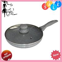Сковорода Edenberg EB-785 с антипригарным мраморным покрытием 22 см, фото 1