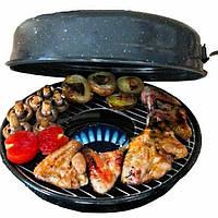 Сковорода гриль-газ Benson BN-803 с мраморным антипригарным покрытием | сковородка для гриля на газу Бенсон, фото 1