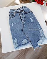Юбка джинсовая женская  S,M,L
