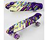 Детский скейт Best Board F9797 со светящимися колесами.