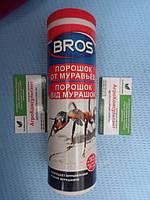 Брос Bros, 250 г - порошок от муравьев, разрушает муравейники