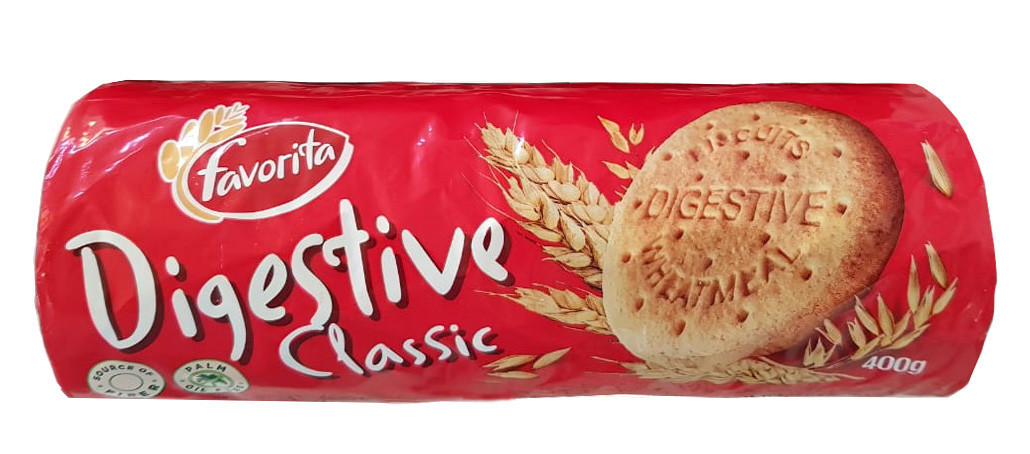Печиво GULLON Digestive Classic Favorita, 400г