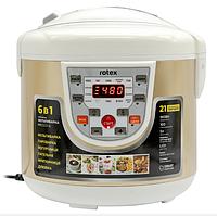 Мультиварка ROTEX RMC522-G 5л   пароварка   скороварка   рисоварка, фото 1