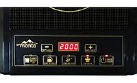 Электроплита MONTE MT-2100 индукционная на 1 конфорку   Плита электрическая Домотек, фото 1