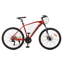 Велосипед Profi Красно-черный G24VELOCITY A24.2 / 24 Д