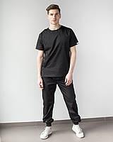 Медичний чоловічий костюм Техас чорний, фото 1