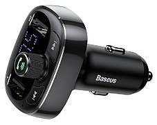 FM-трансмиттер Baseus T-typed Wireless MP3 Charger Черный (CCALL-TM01)