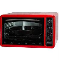 Духовка ASEL AF-0123 40-23 настольная красная   Электрическая духовая печь, фото 1