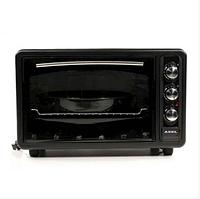 Духовка ASEL AF-0123 40-23 настольная черная   Электрическая духовая печь, фото 1