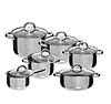Набор посуды Edenberg EB-4013 кастрюли сотейник и ковш из 6 предметов